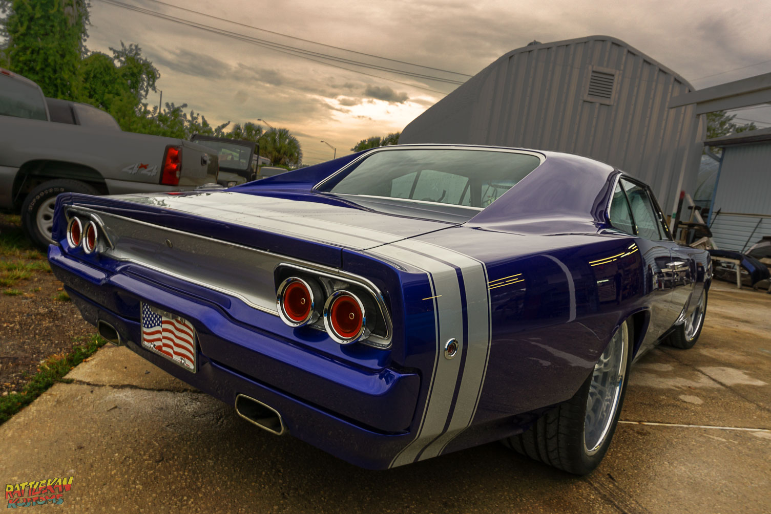 Dodge Charger painted by RattleKan Kustoms in Melbourne FL