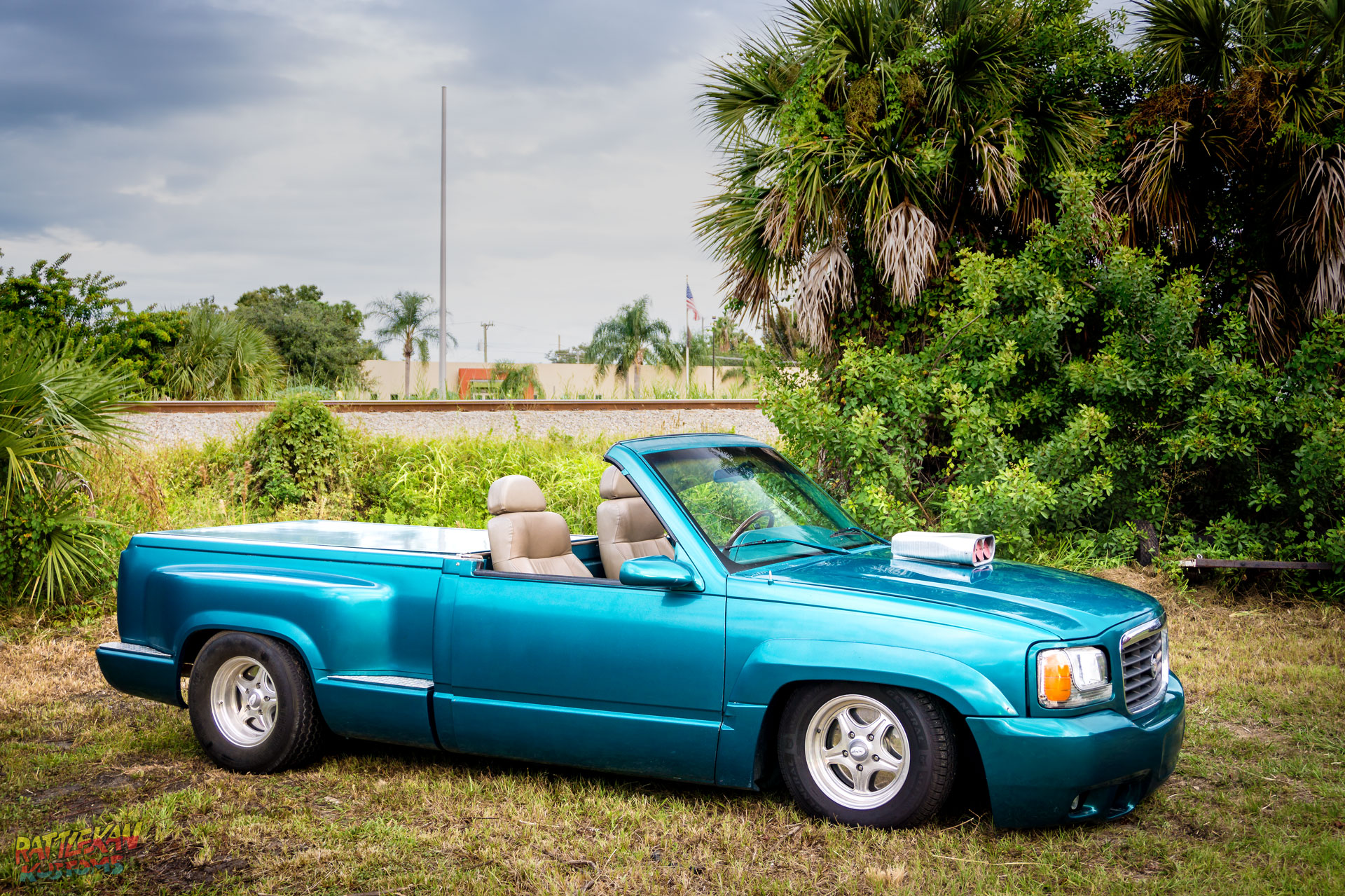 Chevy Stepside Once Piece Removable Convertible Roof | RattleKan Kustoms