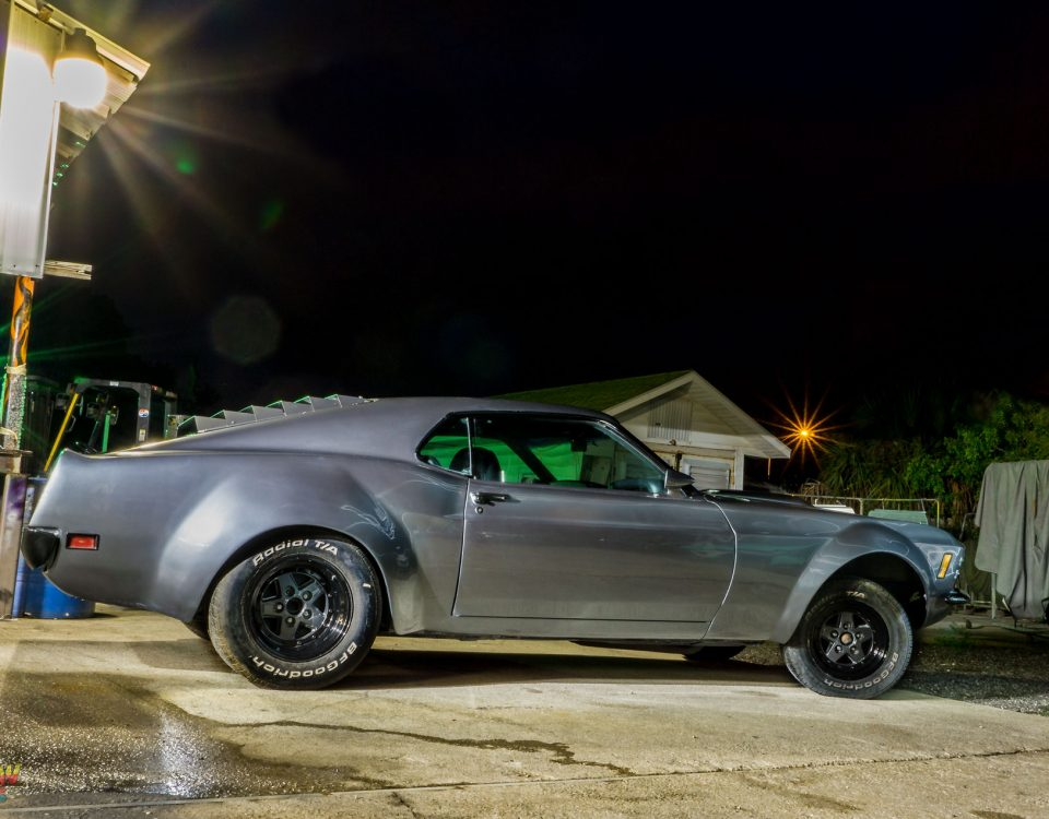 Ford Mustang paint by Rattlekan Kustoms Melbourne FL